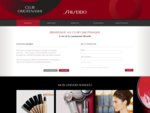 Shiseido Club Omotenashi – Bienvenue !
