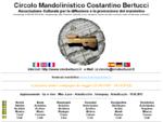 Circolo Mandolinistico Costantino Bertucci - Mandolino, Mandolin, Mandolina, Mandola, Mandoline