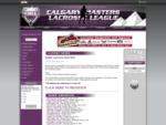 Calgary Masters Lacrosse League