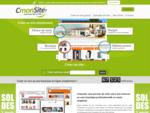 Créer un site internet gratuitement ou créer une boutique en ligne sur CmonSite, c...