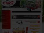 Matériel forestier CMS, matériel agricole CMS remorque forestiere, plateau paille, grappin, fend