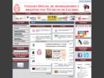 Colegio Oficial de Aparejadores, Arquitectos Técnicos e Ingenieros de Edificación de Cáceres