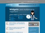 Codeeta. com | Widgets para captar leads y vender por internet tus entradas, promociones, suscrip