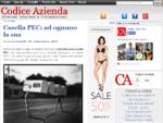 Codice Azienda Internet per imprese e professionisti
