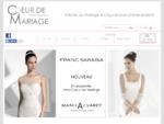 Coeur de Mariage Paris - Boutique Robes de Mari233;e, Robe Cocktail, Costumes, Cort232;ge, C23