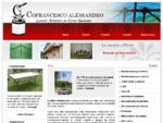 Cofrancesco Alessandro - Lavori artistici in ferro battuto - ferro battuto, tavoli, sedie lampade,