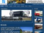 COGEN SPA - Costruzione, noleggio manutenzione e assistenza gruppi elettrogeni - generatori