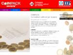 Coinpack - Minigrip, contenitore conteggio monete per la Banca, lUfficio e per chi maneggia giorna