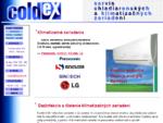COLDEX - Servis chladiacej a klimatizačnej techniky bytová, kancelárska, priemyselná klimatizácia