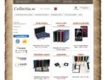 collectia. se - mynttillbehör och frimärkstillbehör. Även stort sortiment serietillbehör