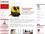 COLMAN SAS, vendita e assistenza macchine e prodotti per la pulizia industriale