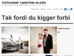 Fotograf Carsten Olsen - Bryllupsfotografering i Kà¸benhavn og omegn