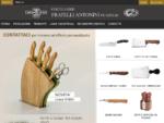 Coltellerie Antonini Maniago - Coltelli forgiati in accaio inox professionali, da cucina, ...
