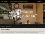 Ravintola Coma - Aitoa välimerellistä ruokaa Helsingin sydämessäRavintola Coma