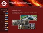 Concepteur d'échangeur de chaleur et de chaudières de récupération d'énergie - comeco