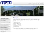 COMFA TECNOSERVICE, pensiline ombreggianti, pensiline impermeabili, pensiline fotovoltaiche, pen