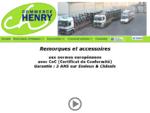 Commerce Henry - vente de remorques, garantie 3 ans sur Essieux Châssis