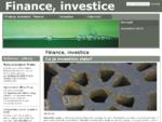 Compedo. cz - Finance, Investice a àºÄetnictvà