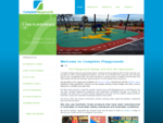 Complete Playgrounds - Wetpour rubber softfall and softfall synthetic grass surfaces for ...