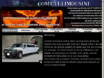 Comtat Limousine, location de voitures de luxe avec chauffeur