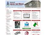 Comune di Lecce nei Marsi - Official Website