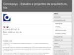Concepsys - Estudos e projectos de arquitectura, lda.
