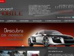Bem Vindo | Comércio Automóvel - Fátima | Concept Mobile