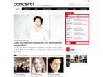 Klassische Musik, Klassik-Konzerte, Oper Festivals | concerti. de