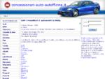 Garage, rivenditore d´auto, autofficina, concessionario in Italia