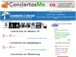 ConciertosMexico | | Proximos Conciertos en Mexico, Listado de Conciertos en Mexico
