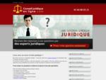 Conseils juridiques en ligne met à votre disposition une équipe davocats pour résoudre vos prob...