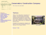 The Conservatory Construction Company