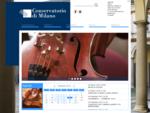 Conservatorio di musica quot;G. Verdiquot; di Milano Home