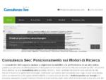 Consulenza Seo | Posizionamento Garantito