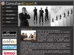 Consultantexport, votre consultant importexport opérationnel