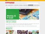 Money - Reports General Advice - Consumer NZ