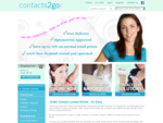 Contacts2go - Contact Lenses Online, Coloured Contact Lens, Multifocal Contacts