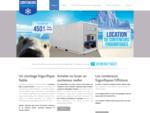 Vente de conteneurs frigorifiques, neufs ou occasion, sur toute l039;Europe, Emirats, Afrique.