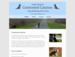 Contented Canines - Christchurch Dog Walking Pet Care