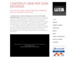 Testi e contenuti per siti web - Testi e contenuti per siti web