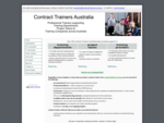 Customer Service, Sales, Leadership Train The Trainer | Contract Trainers