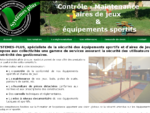 Contrôle des aires de jeux et des équipements sportifs - Systèmes plus - Accueil