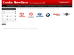 Cooke Howlison - No. 1 in Otago since 1895 Home