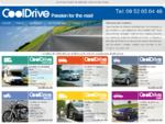 Cooldrive - Location de véhicules, camping car, minibus, voitures, moto, ..