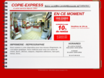 Bienvenue chez Copie Express Vichy Copy