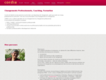 Cordia, Monique Bécheret - Bilans de compétences, Coaching professionnel, Formation