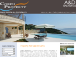 Corfu Property, real estate agents and architects, villas, houses and land for sale in Greece - ...
