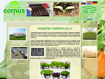 Ponudba podjetja CORNUS d. o. o. obsega svetovanje, načrtovanje kmetijske pridelave in pridelave