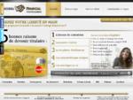 Carte bancaire prépayée - la carte bancaire rechargeable Prestige MasterCard Corpedia Financial
