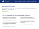 Buscas SAP Business One en México Alcanza el éxito de tu empresa con SAP Business One y Corponet Pa